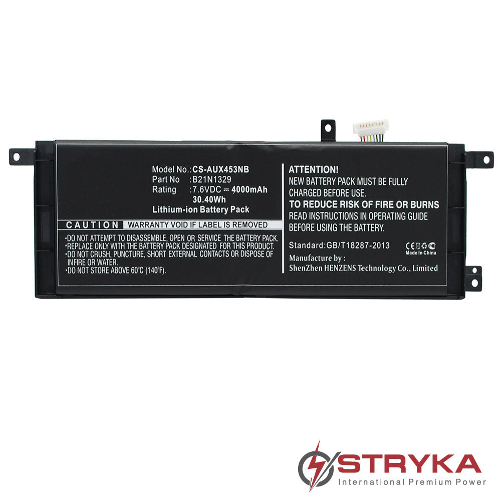 Stryka Battery to suit ASUS F553M 7.6V 4000mAh Li-ion