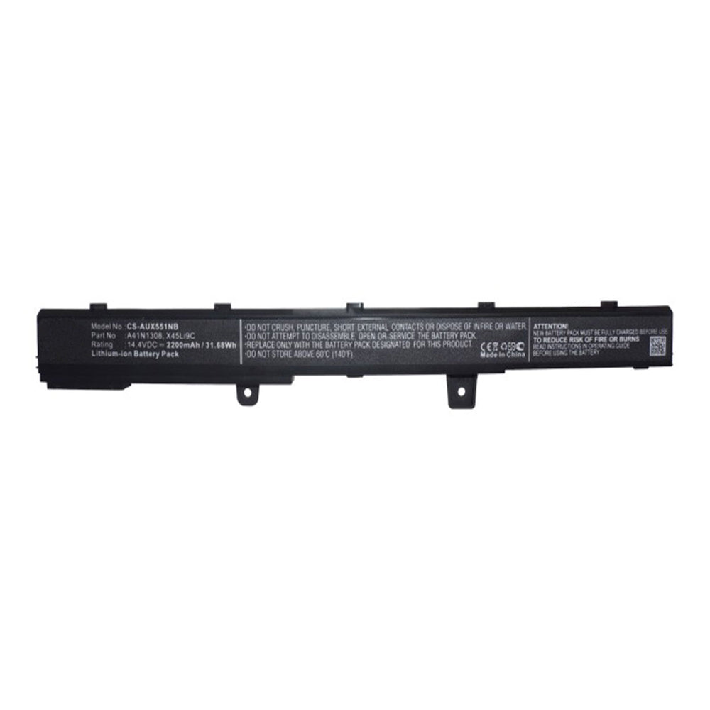 Stryka Battery to suit ASUS A41N1308 14.4V 2200mAh Li-ion
