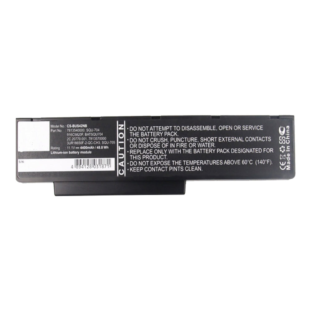 Stryka Battery to suit BENQ JoyBook A53 11.1V 4400mAh Li-ion