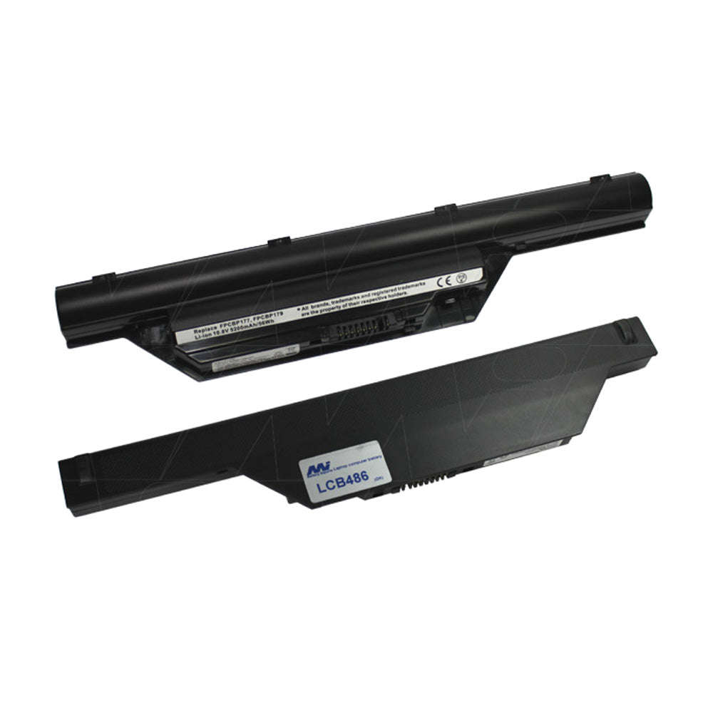 10.8V 56Wh - 5200mAh LiIon Laptop battery suit. for Fujitsu