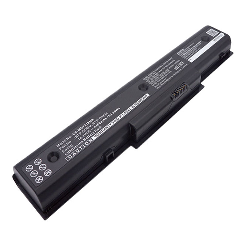 Stryka Battery to suit MEDION BTP-DNBM 14.4V 4400mAh Li-ion