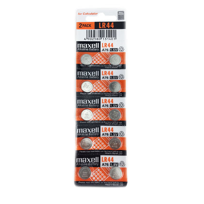LR44 battery, Maxell Strip of 10