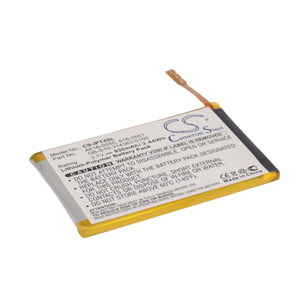 Stryka battery for APPLE iPod Touch 4th Gen 3.7V 930mAh Li-Pol