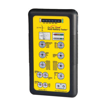 Battery Tester for Primary & Rechargeable Batteries