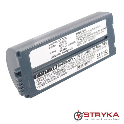 Stryka Battery to suit CANON Selphy CP-500 22.2V 1200mAh Li-ion