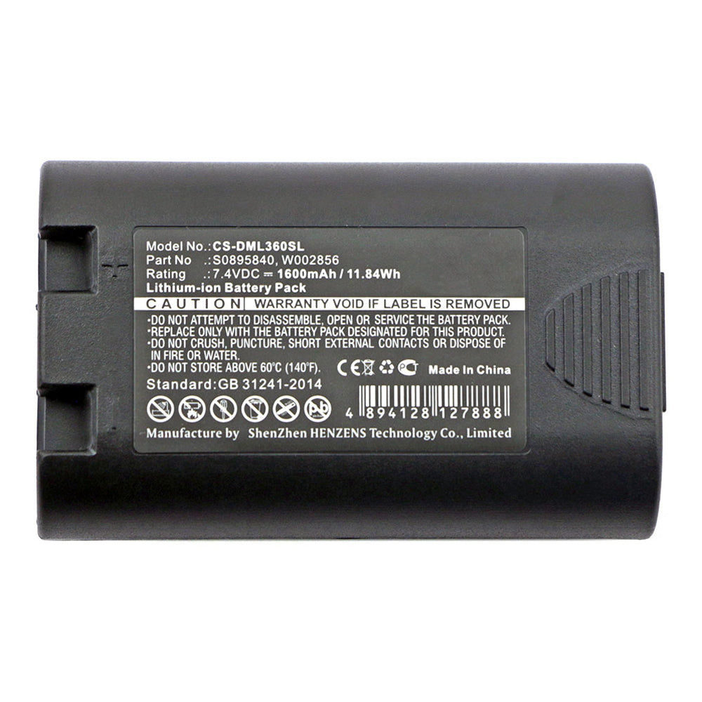 Stryka Battery to suit DYMO S0895840 7.4V 1600mAh Li-ion