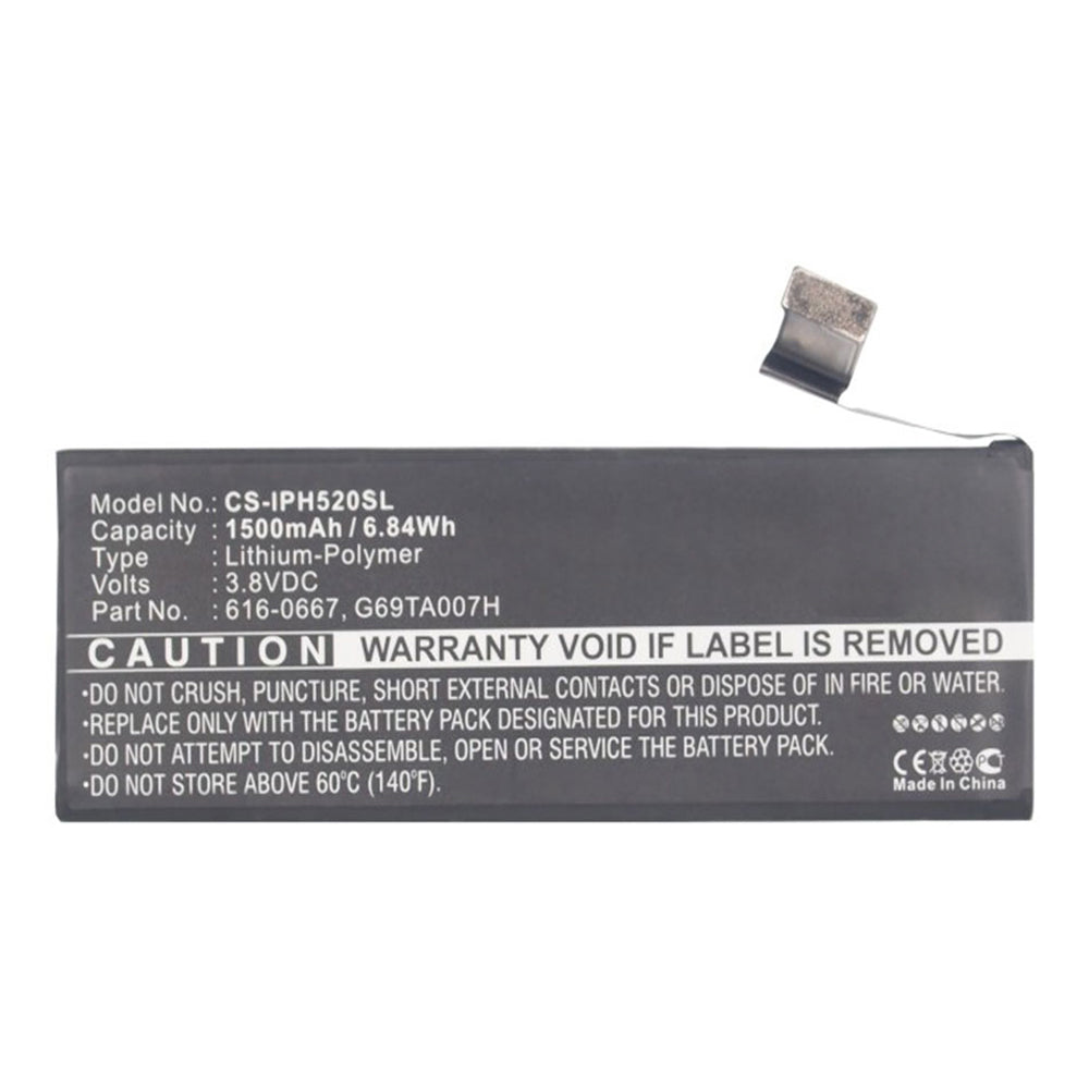 APPLE iPhone 5C 3.8V 1500mAh Li-Pol
