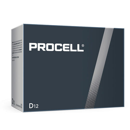 Procell-Duracell 1.5V D Size Bulk Box of 12 - batteryspecialists