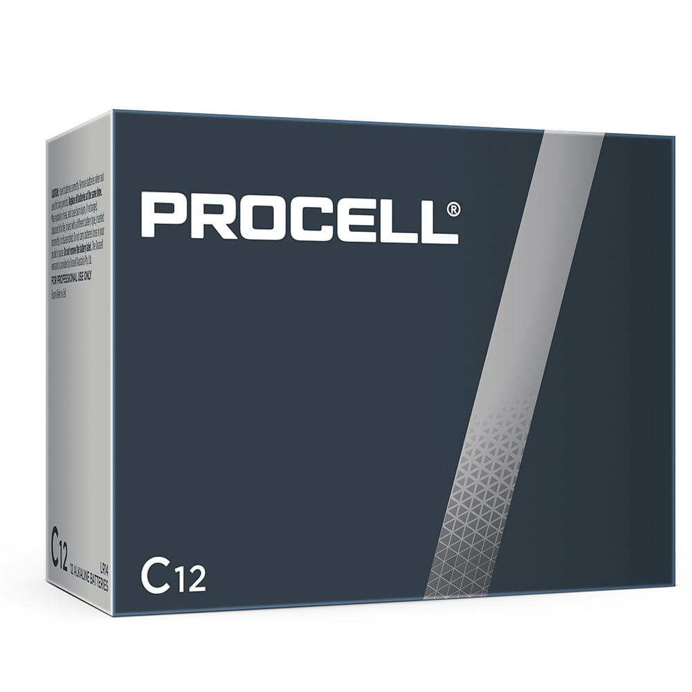 Duracell Procell Industrial C size 1.5V PC1400 Bulk Box of 12
