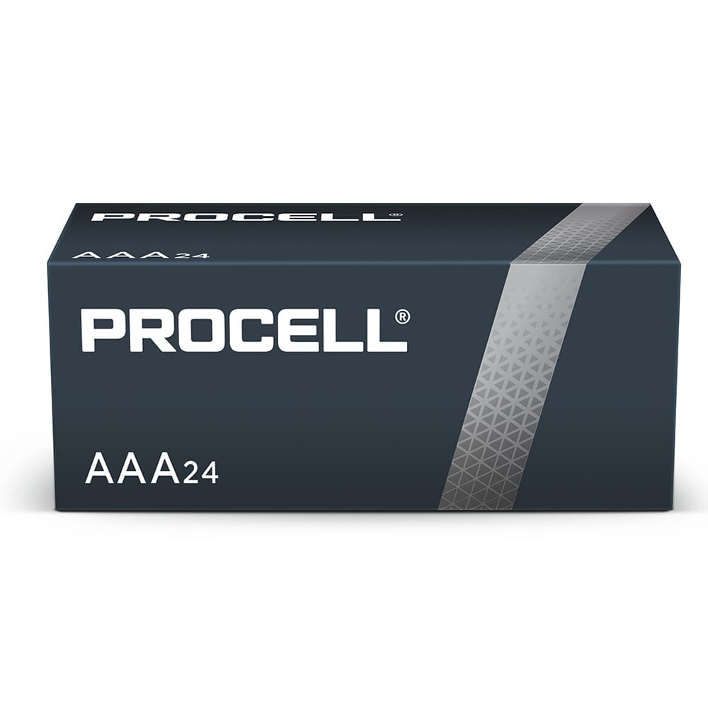 Duracell Procell Industrial AAA 1.5V PC2400 Bulk Box of 24
