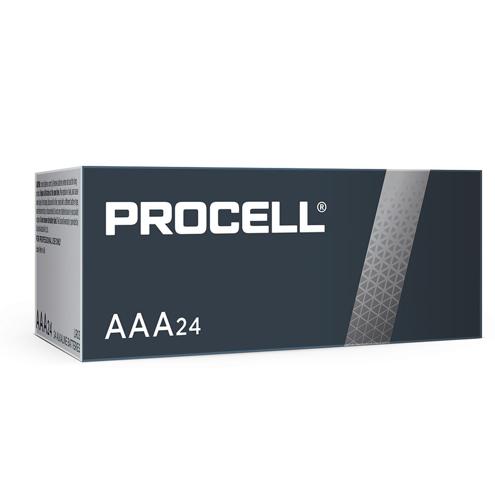 Procell-Duracell 1.5V AAA Bulk Box of 24