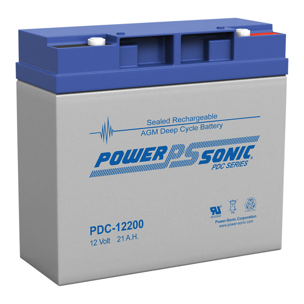 Power-Sonic 12v21 ah C20 Cyclic AGM