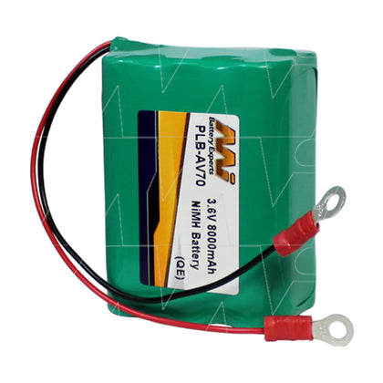 Battery for AV70 solar obstruction aviation light