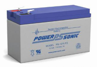 Power-Sonic PS 12 volt 7 ah F2