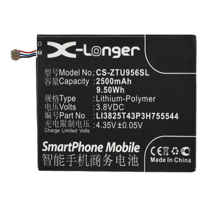 TELSTRA-ZTE T83 3.8V 2500mAh Li-ion