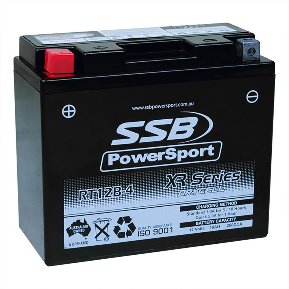 RT12B-4 High Peformance AGM Motorcycle Battery
