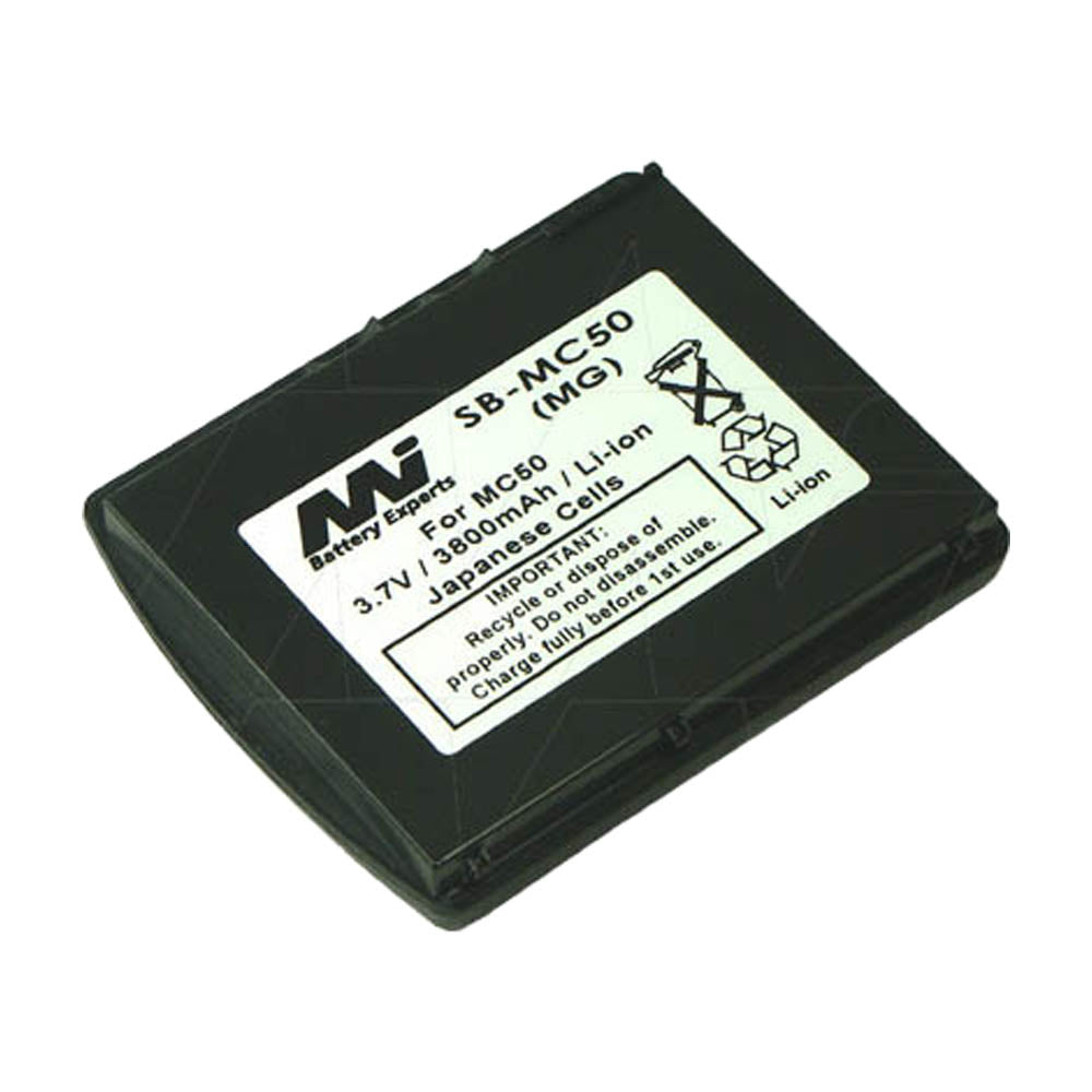 3.7V 3800mAh LiIon Scanner battery