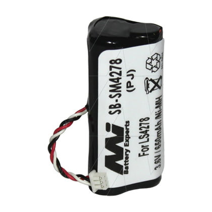 3.6V 650mAh NiMH Scanner battery