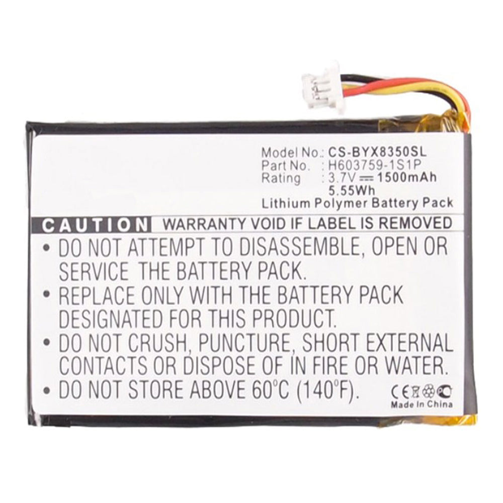 Stryka Battery to suit BUSHNELL Yardage Pro XGC 3.7V 1500mAh Li-Pol