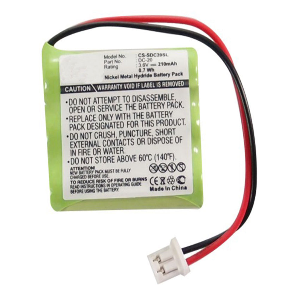 Stryka Battery to suit DOGTRA 200NCP 3.6V 210mAh NiMH