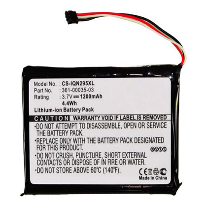 Stryka Battery to suit GARMIN Nuvi 2460LT 3.7V 1200mAh Li-ion