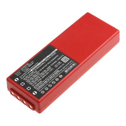 Stryka Battery to suit HBC FUB10AA 6.0V 2000mAh NiMH - Red