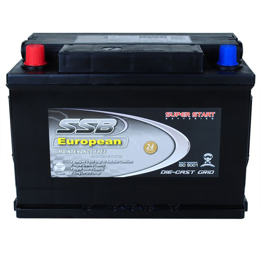 SS66TL High Performance Maintenance Free Car Battery