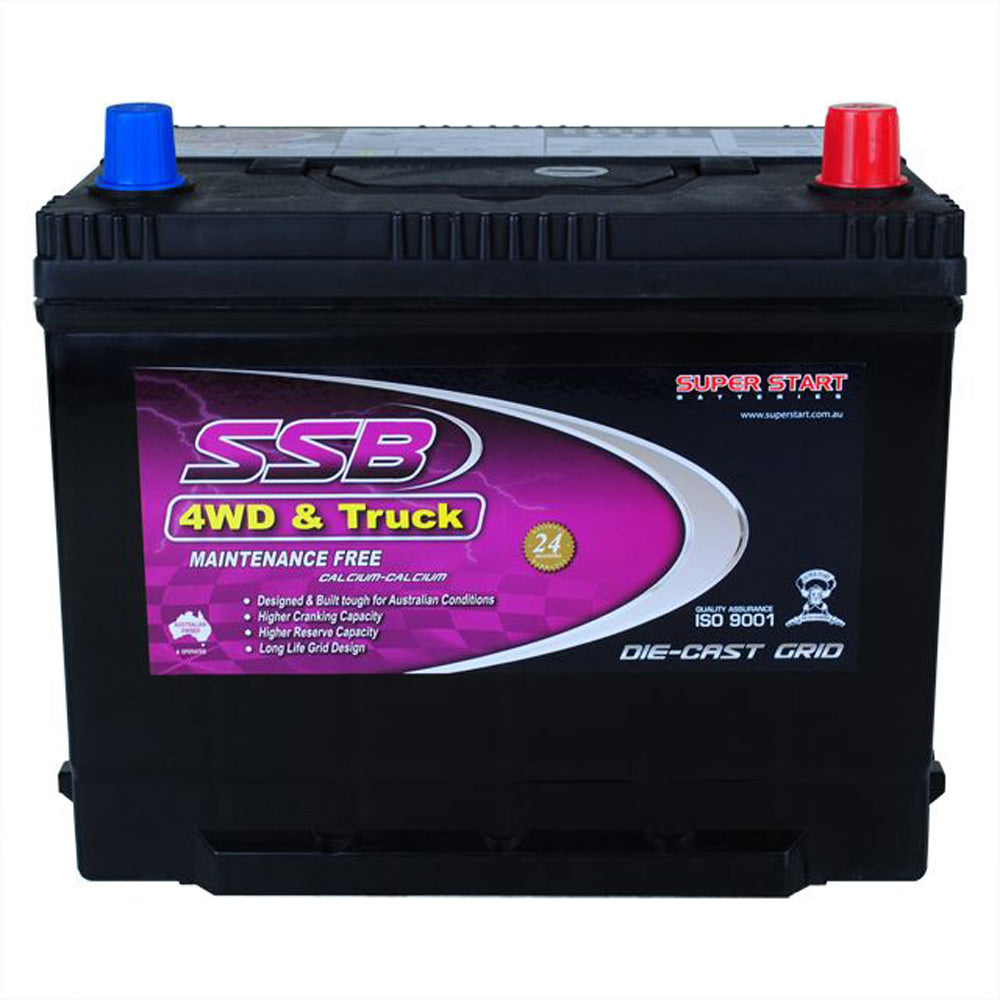 SS70L High Performance Maintenance Free 4WD & Truck Battery