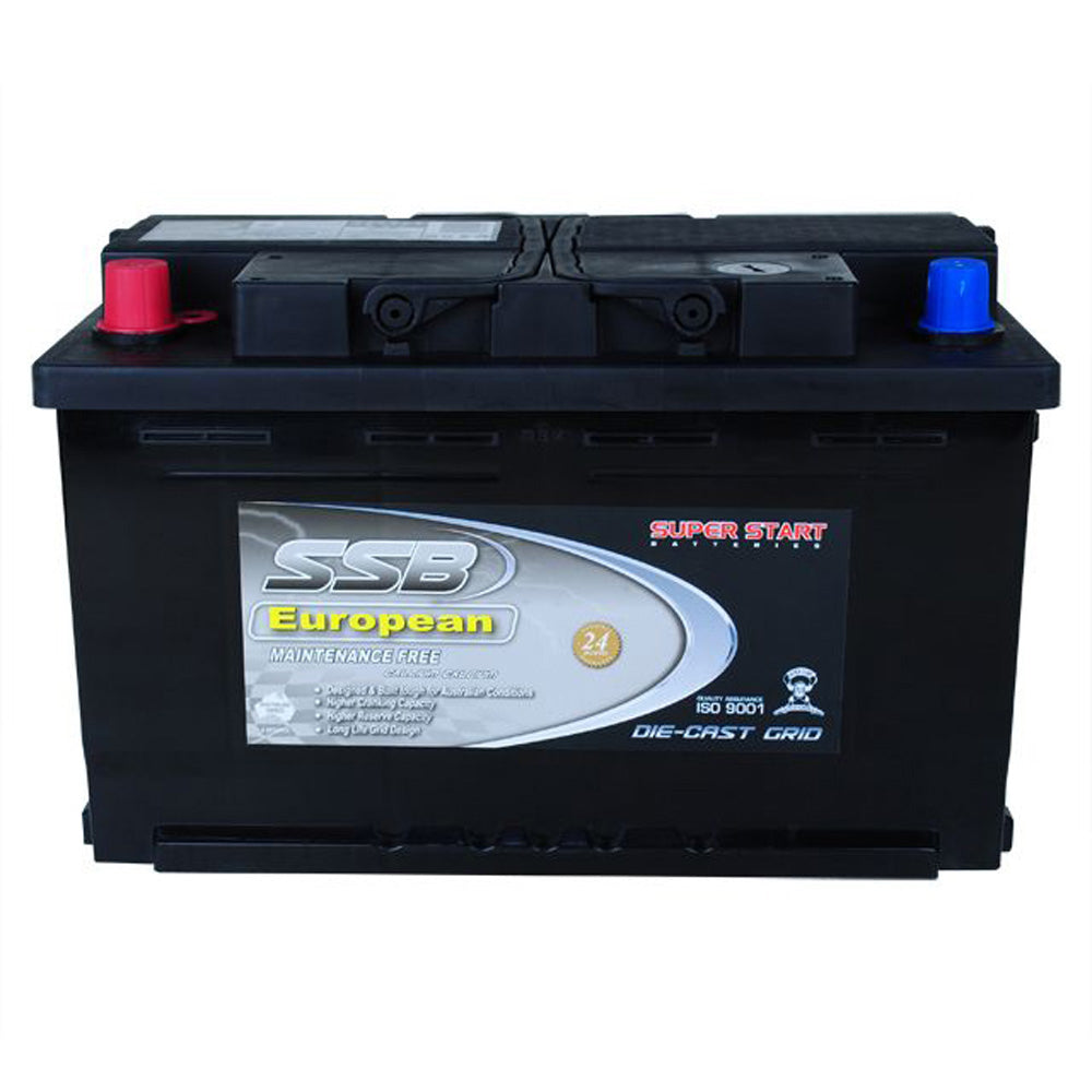 SS75TL High Performance Maintenance Free Car Battery