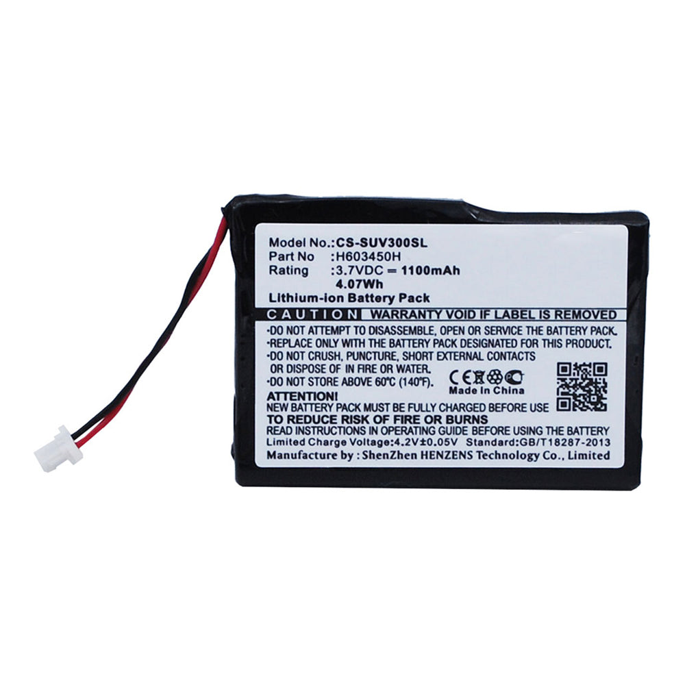 Stryka Battery to suit Sureshotgps Micro V3 3.7V 1100mAh Li-ion