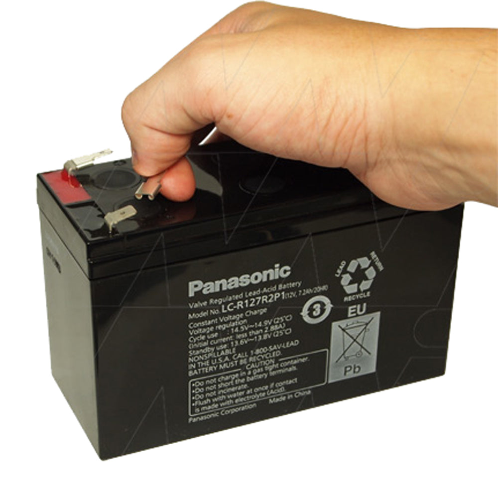 Spade Terminal Adaptor F2-F1, P1-P, Faston 250-187, 6.35-4.8mm for Lead Acid batteries.