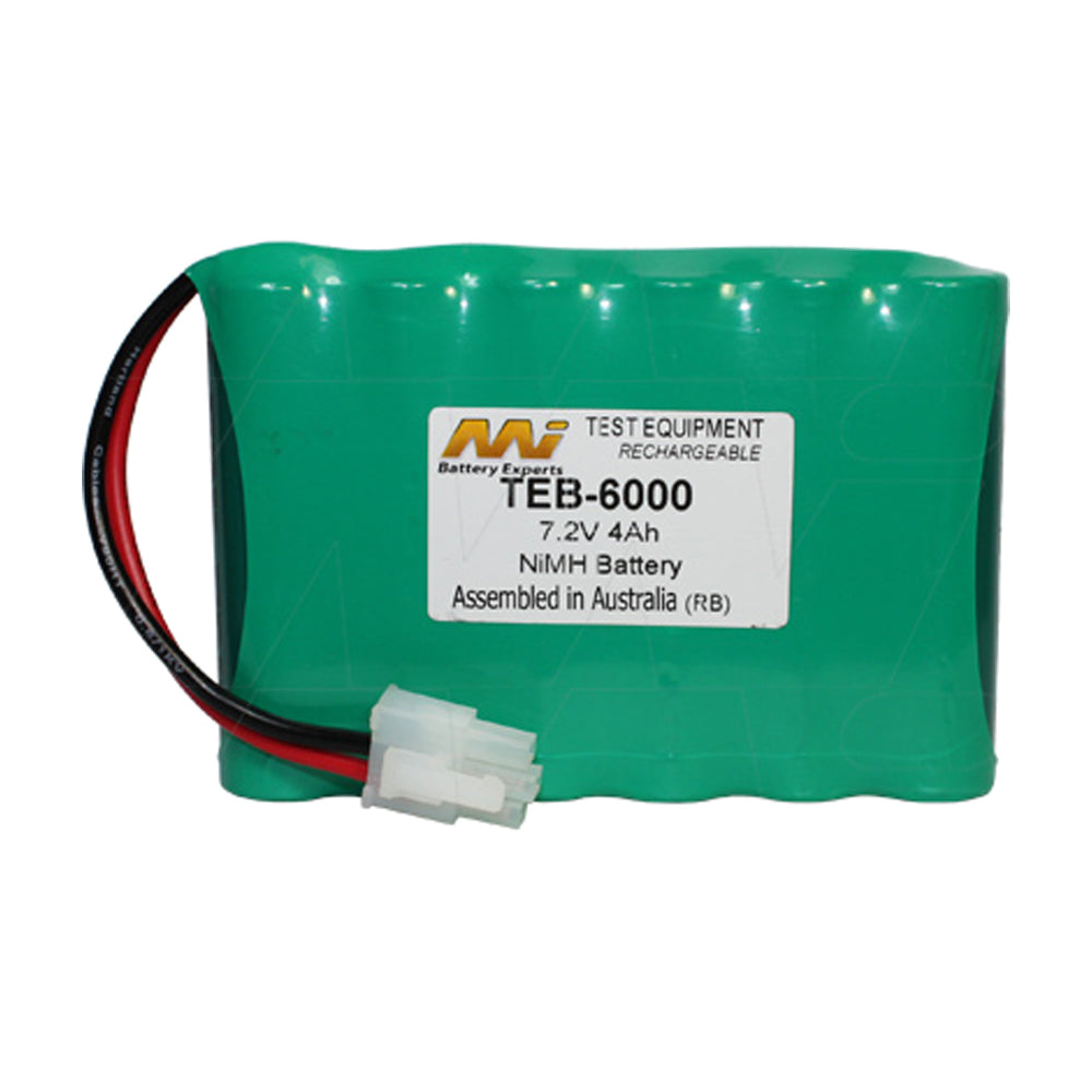 7.2V 4Ah NiMH Test Equip. battery