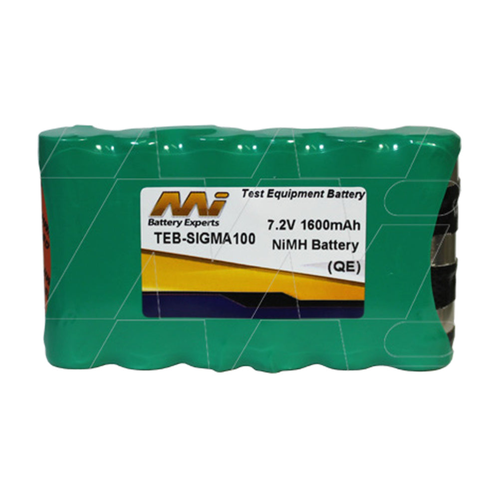 7.2V 1600mAh NiMH Test Equip. battery