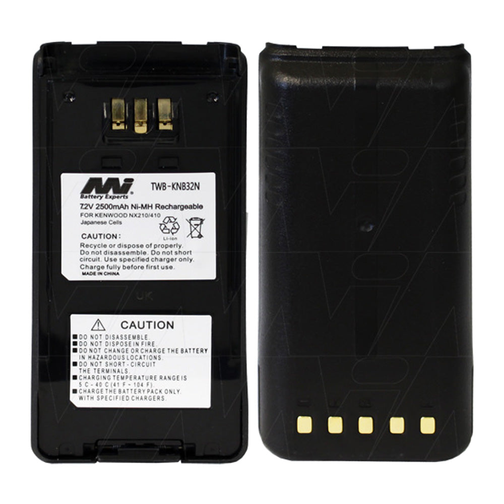 7.2V 2500mAh NiMH Two Way Radio battery