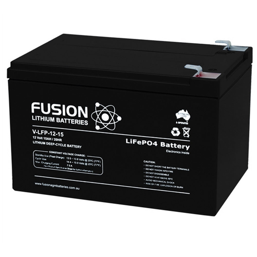 V-LFP-12-15 Lithium Ion Phosphate Deep-Cycle Battery