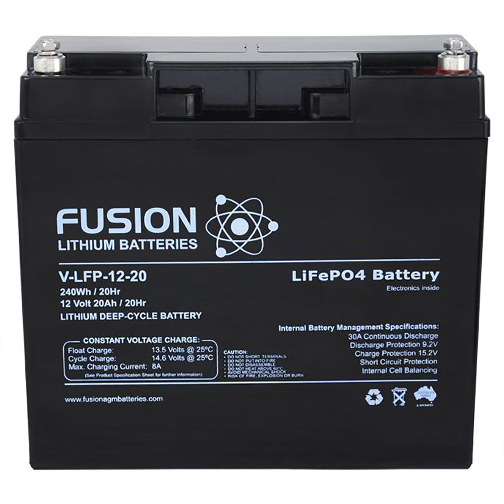 V-LFP-12-20 Lithium Ion Phosphate Deep-Cycle Battery