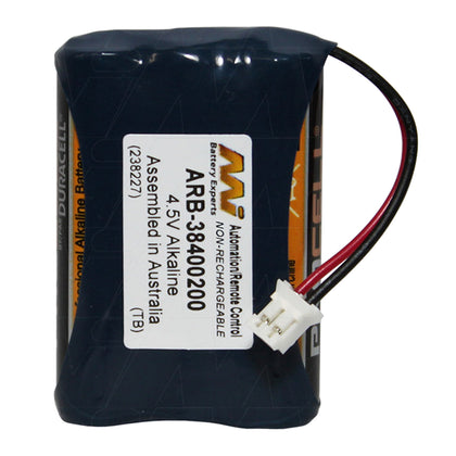 4.5V Alkaline Door Lock battery
