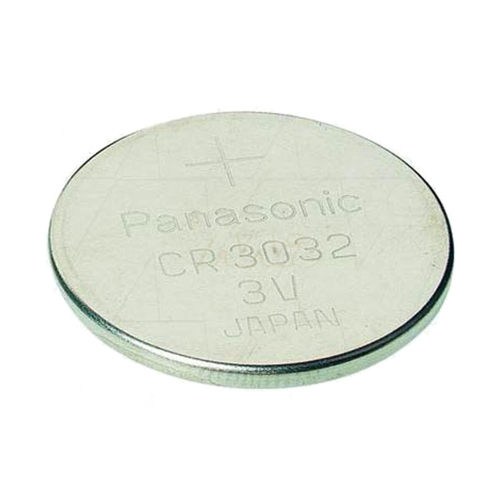 Panasonic CR3032 3V 500mAh Lithium Coin Cell