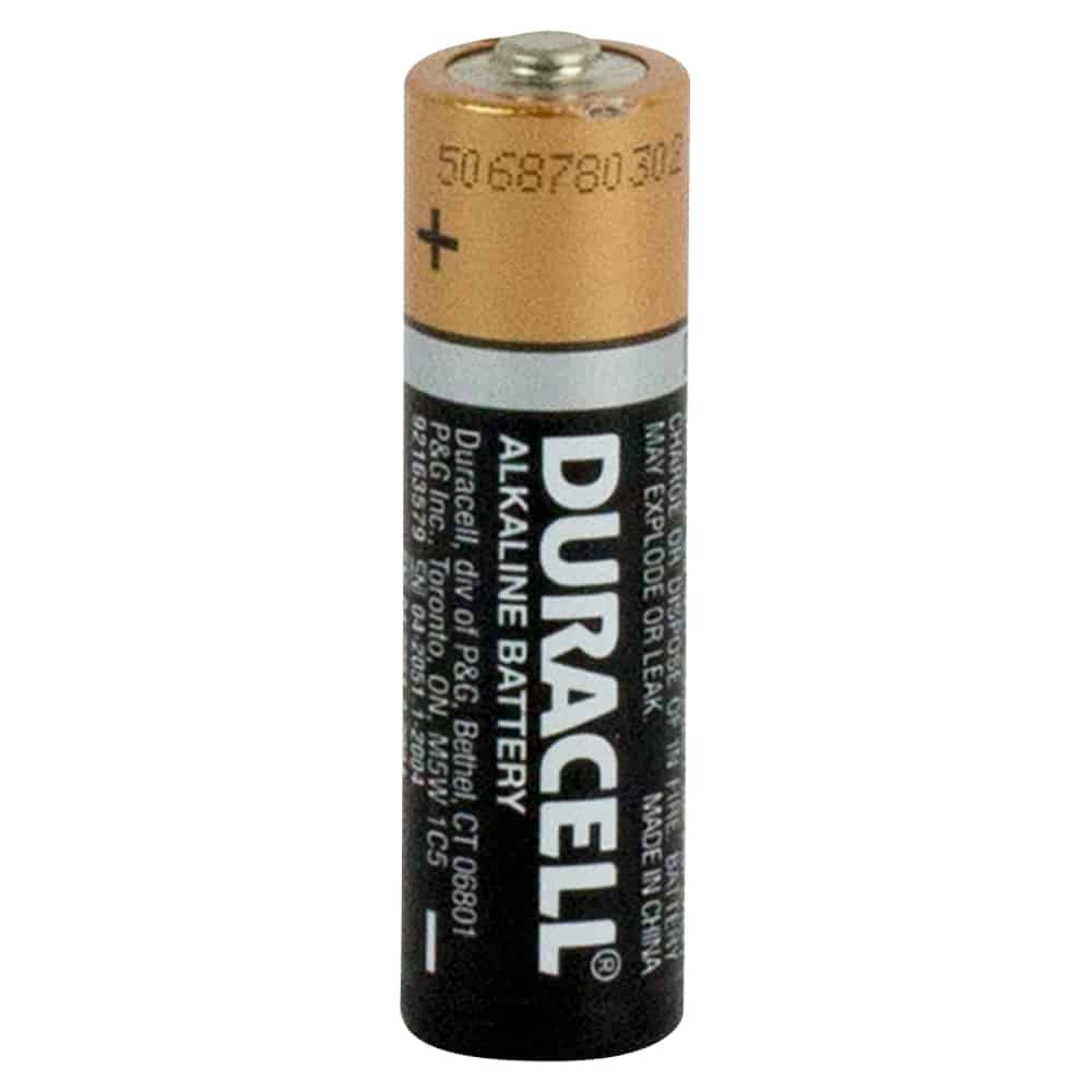 Duracell Coppertop 1.5V AA battery box of 24