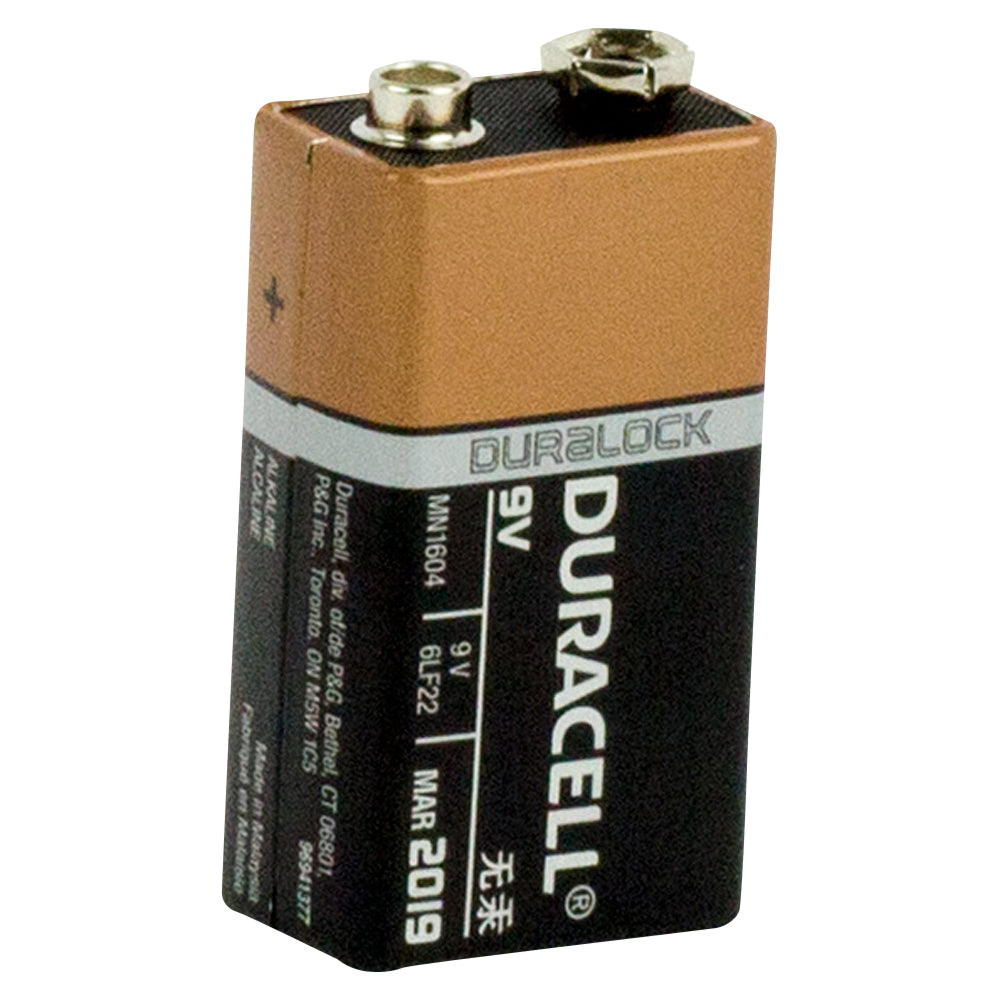 Duracell Coppertop 9V Battery Bulk box of 12
