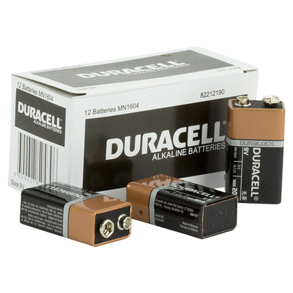 Duracell Coppertop 9V Battery Bulk box of 12 - batteryspecialists
