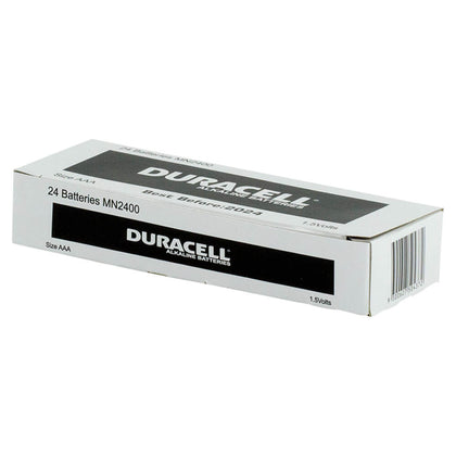 Duracell Coppertop 1.5V AAA battery bulk box of 24 - batteryspecialists
