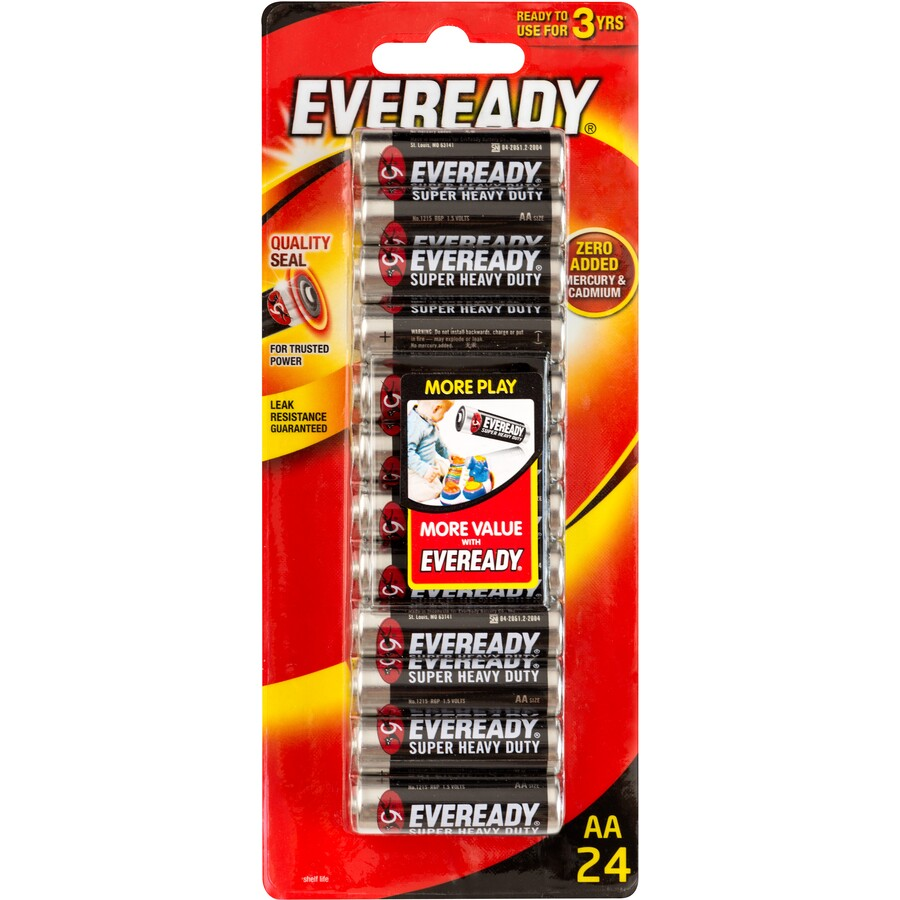 1215HP24BB Eveready Black AA BP24