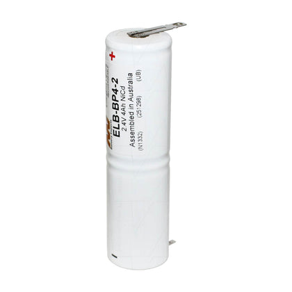 Emergency Lighting Battery Pack for White Lite 2xD cell column pack