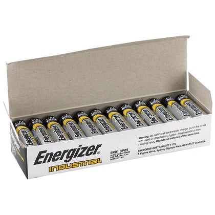 Energizer Industrial AA Battery Box of 24 - batteryspecialists