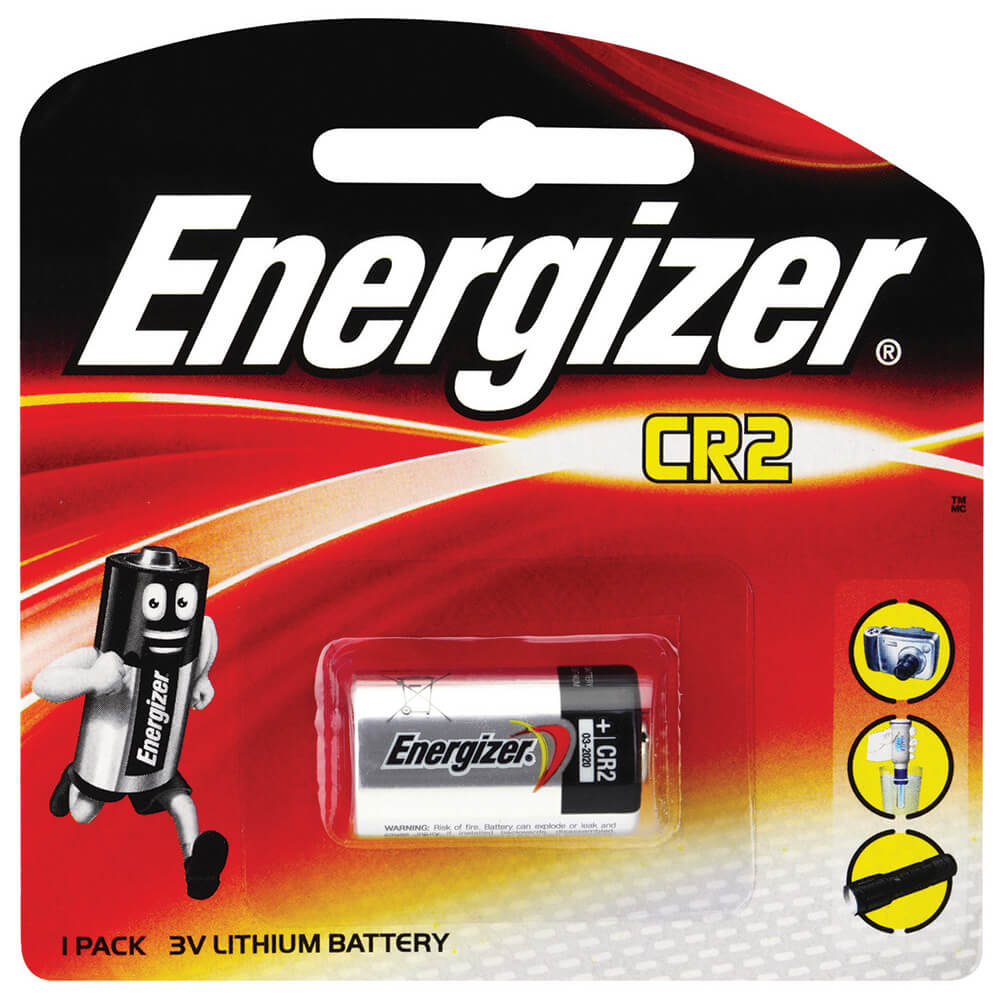 Energizer CR2 Lithium 3V Camera Battery 1PK