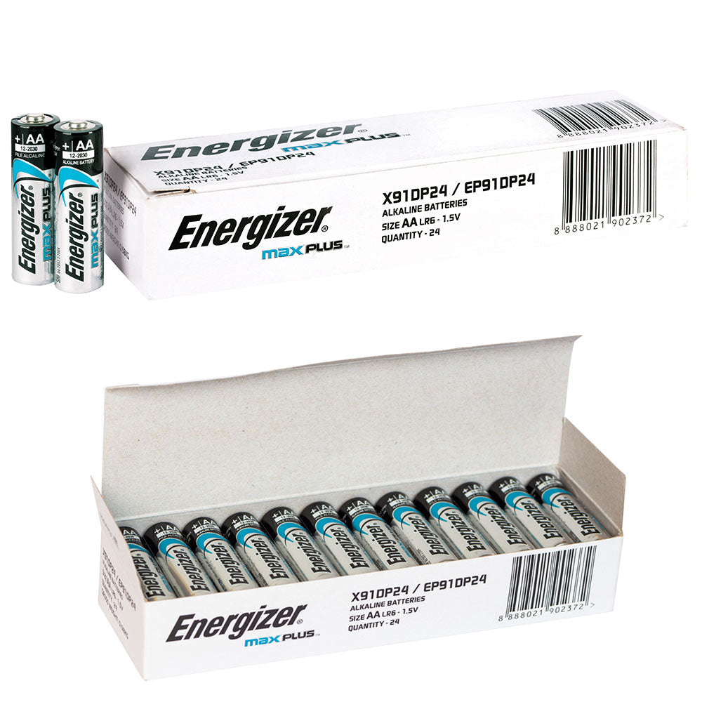Energizer MAX PLUS bulk AA box of 24