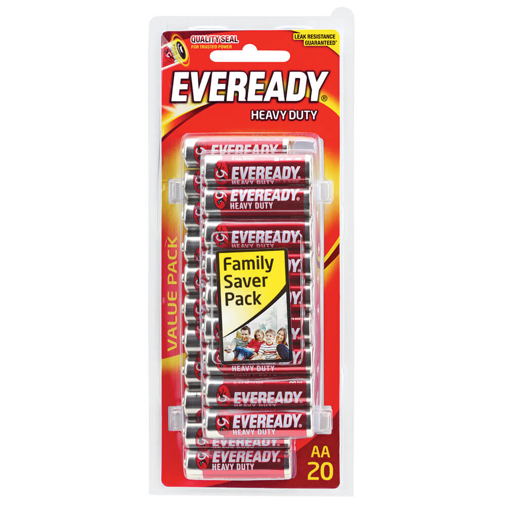 EVEREADY HD AA 20PK