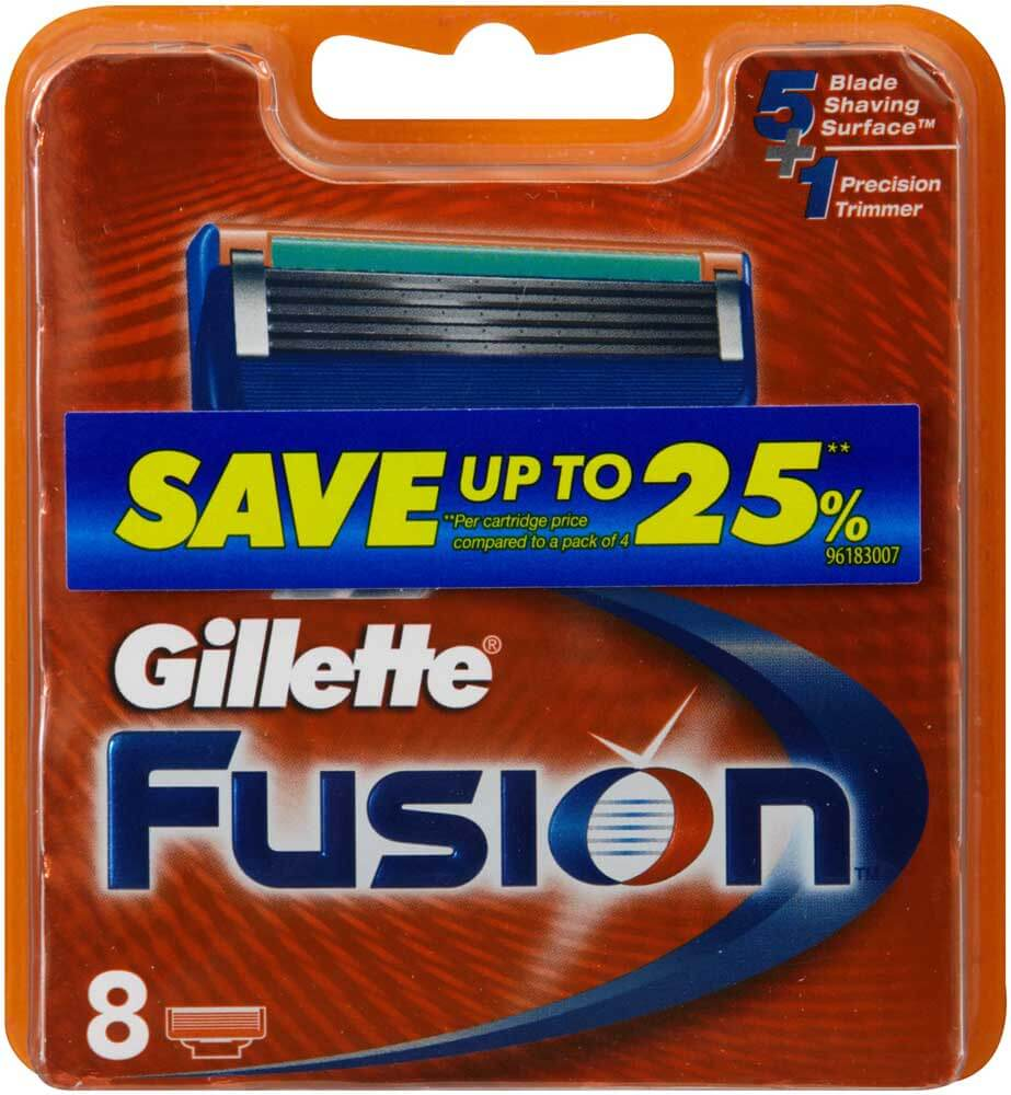 Fusion Razor Cartridge 8pk