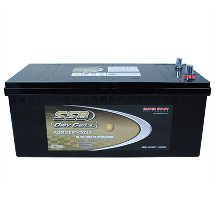 SSB 12V 160Ah Dry Cell Deep Cycle Battery